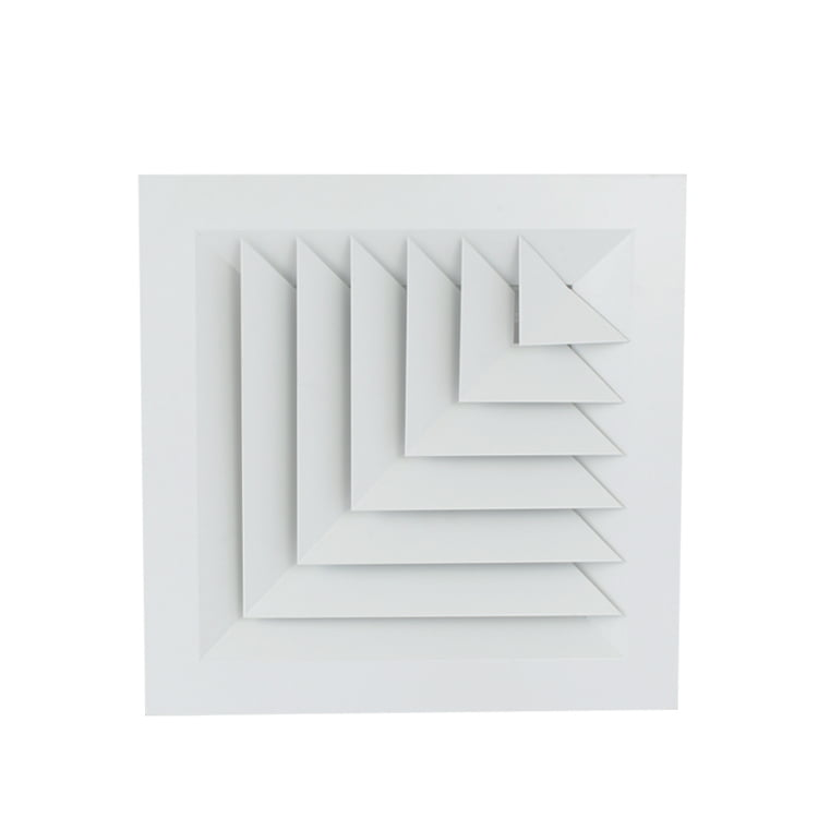 2 Way Diffusers Corner Ceiling Diffusers