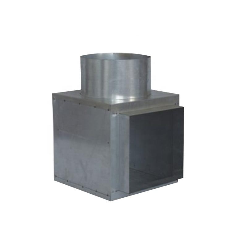 Cushion Head Plenum Metal Insulated Box 1