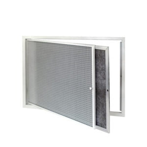Hinged Eggcrate Grille