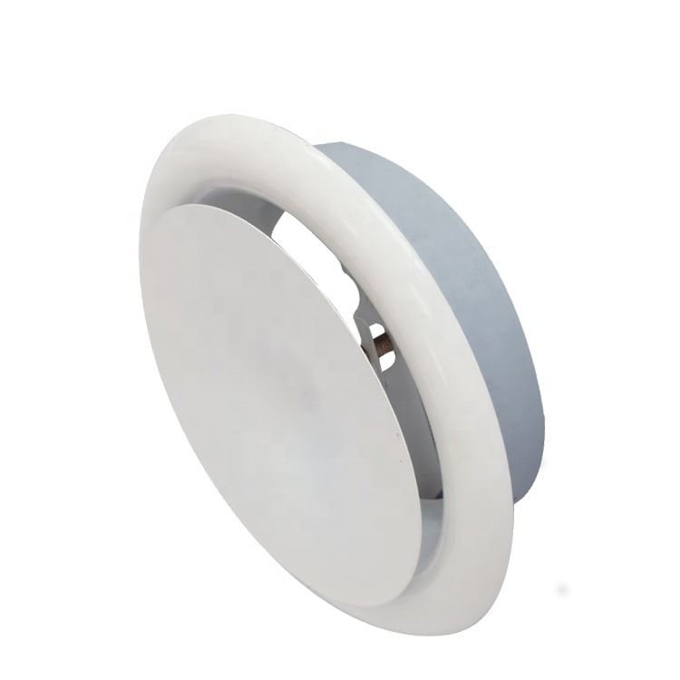 Disk Valve Metal Round Diffuser