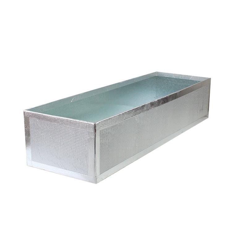 Plain Metal Plenum Cushion Boxes