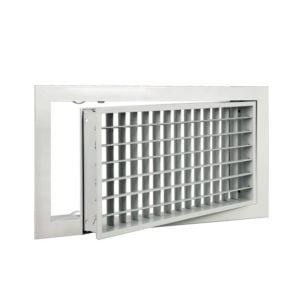 Removable Double Deflection Grille