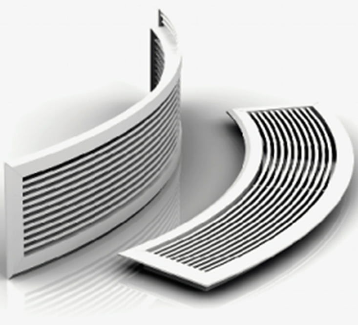 Curved LBG